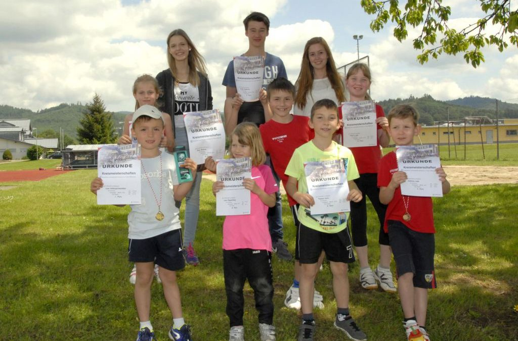Leichtathletik Kreismeisterschaften in Ohlsbach