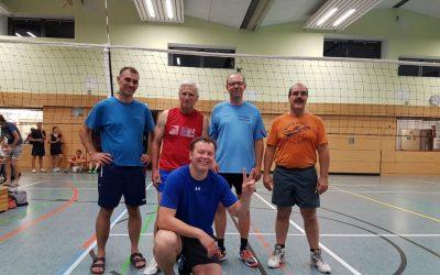 2. Platz beim Volleyballturnier