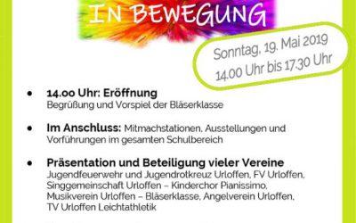 Wir machen mit- Schulfest der Schauenburgschule Urloffen