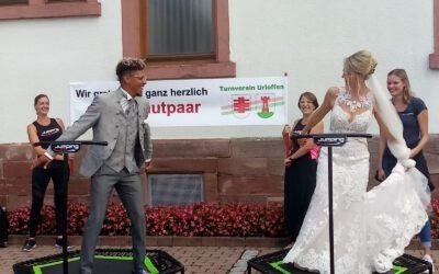 Trainer Hochzeit beim TVU